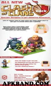 CLASH OF CLANS Mod Apk (Unlimited Gold/Stone + Gems) For Andriod 1
