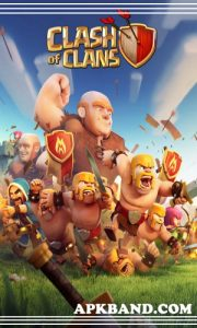 CLASH OF CLANS Mod Apk (Unlimited Gold/Stone + Gems) For Andriod 5