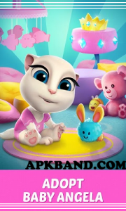 My Talking Angela Mod Apk (Unlimited Money + Coins) For Android 1