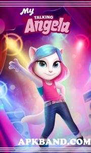 My Talking Angela Mod Apk (Unlimited Money + Coins) For Android 4