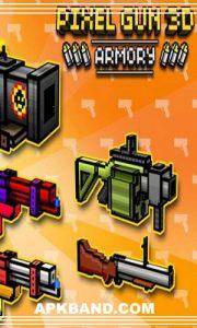 Pixel Gun 3D Mod Apk (Unlock Ammo\Bullets + Infinity Gold) For Android 5