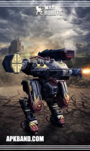 War Robots Mod Apk Download (infinity Bot+Unlimited Money) For Android 1