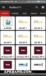 RedBox TV Mod Apk Download (Watch Free Live Matches) For Android 4