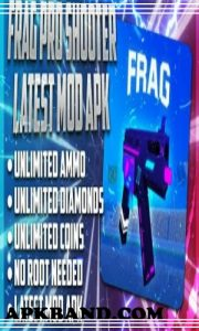Frag Pro Shooter Mod Apk Download (Unlimited Coins and Diamonds) For Android 1