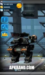 War Robots Mod Apk Download (infinity Bot+Unlimited Money) For Android 5